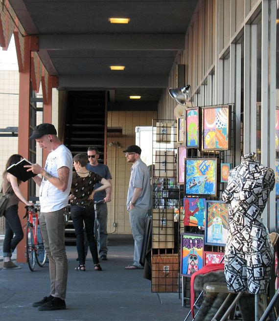 Art, Fashion and Music on Display at Downtown Spaces this First Friday, June 6