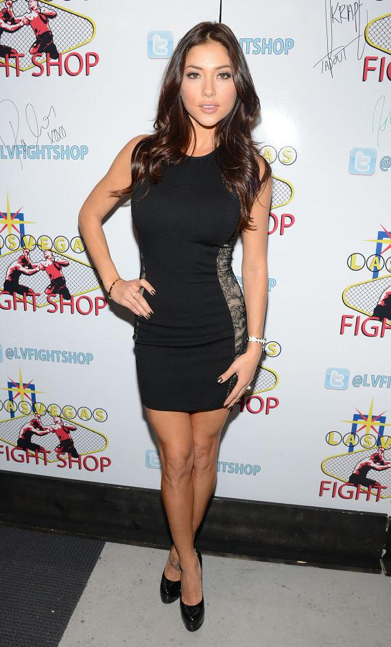 Arianny Celeste at Las Vegas Fight Shop