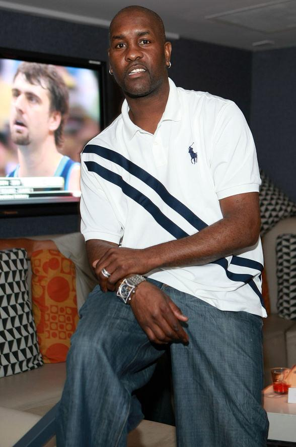 Gary Payton at Lagasse's Stadium