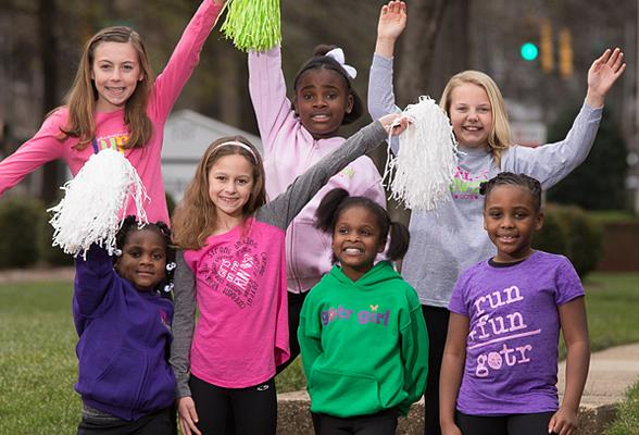 Girls on the Run Spring 5k Brings over 400 Girls, Community Together at Kellogg-Zaher Park, Sunday April 17