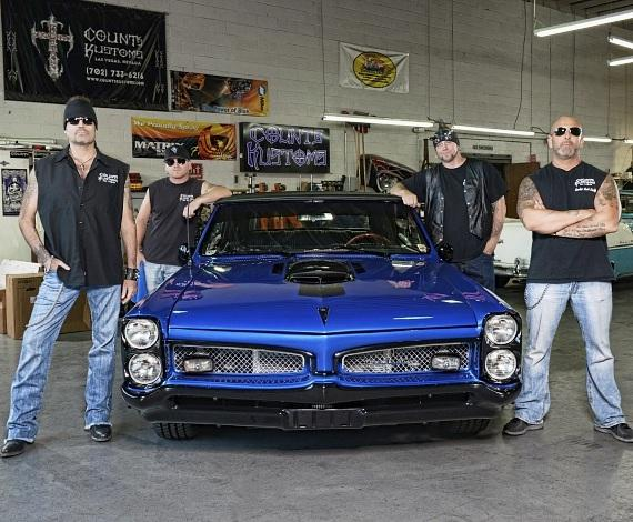 """Cast of HISTORY'S hit TV series """"Counting Cars"""""""