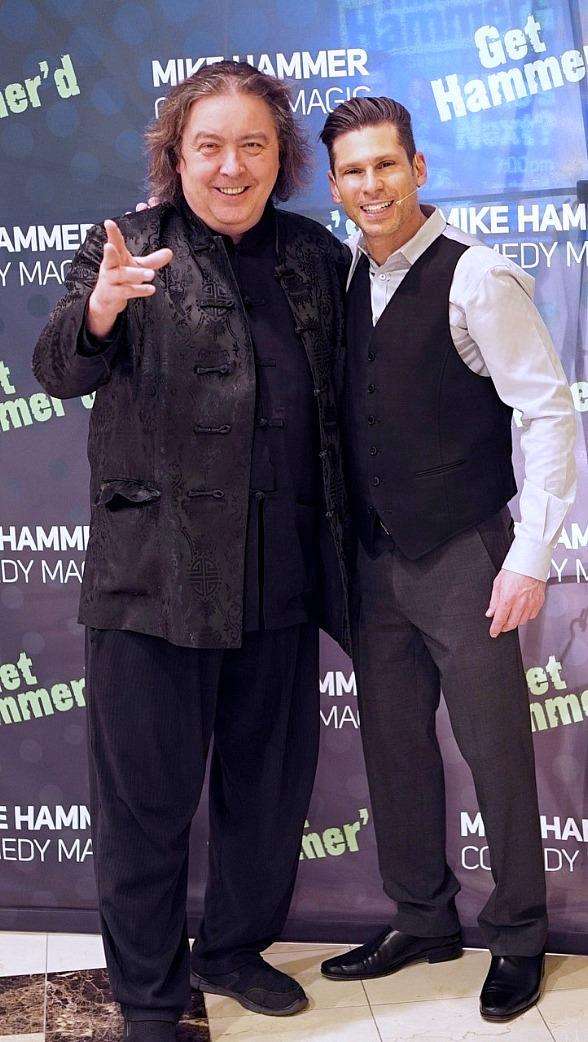 """Jeff McBride Attends """"The Mike Hammer Comedy & Magic Show"""" at The Four Queens Hotel & Casino"""