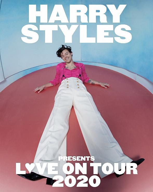 Harry Styles Announces 2020 World Tour 'Love on Tour' Coming to MGM Grand Garden Arena September 5, 2020
