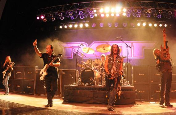 RATT performs at the Henderson Pavilion