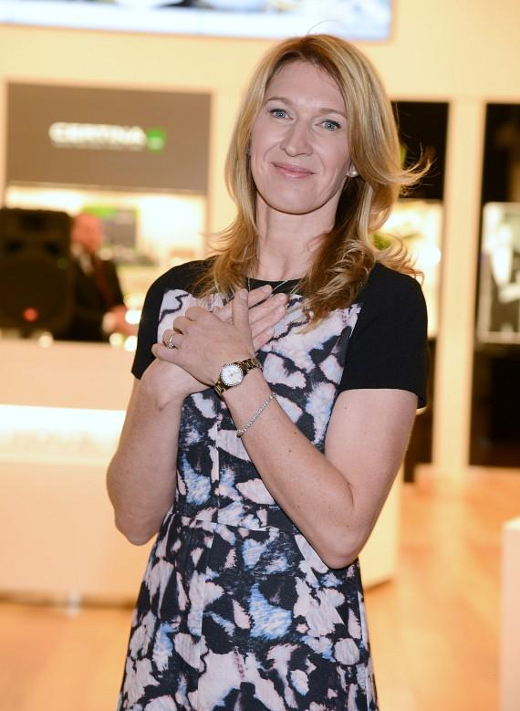 Stefanie Graf at grand opening of Hour Passion at Aria Resort & Casino
