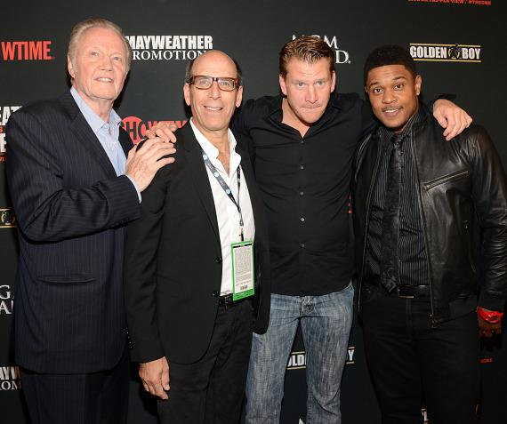 Jon Voight, Matt Blank, Dash Mihok and Pooch Hall