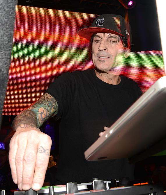 Tommy Lee spins at Body English Nightlclub & Afterhours