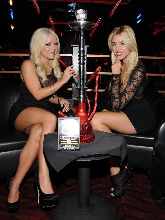 Chelsea Ryan and Heather Rae Young at Crazy Horse III in Las Vegas
