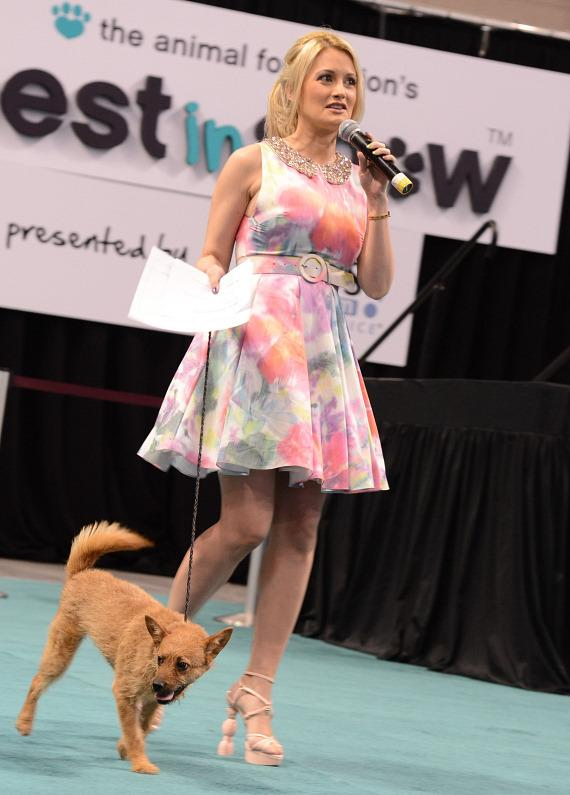Holly Madison is Celebrity Guest at The Animal Foundation's Best in Show