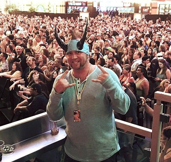 Reality TV stars Horny Mike and Ryan Evans enjoy a weekend at the D Casino Hotel Las Vegas