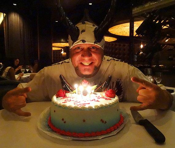 """""""Counting Cars"""" Reality Stars celebrate Horny Mike's Birthday at the D Casino Hotel Las Vegas"""