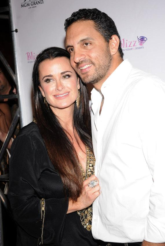 Kyle Richards and Mauricio Umansky