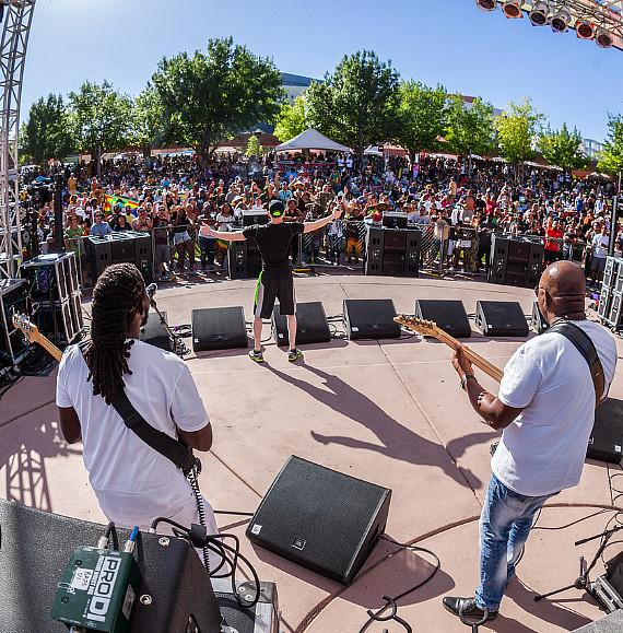 """Reggae in the Desert"" Brings Positive Vibes to Downtown Las Vegas"