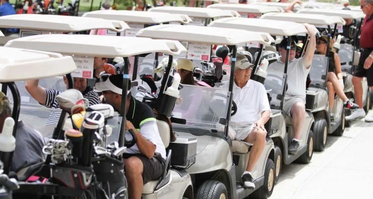 Fore! Golfers all over Las Vegas come together to Support the Children's Heart Foundation at the 8th Annual We ♥ Maggie Golf Tournament May 28