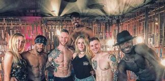 """Singer-Songwriter Ellie Goulding Spotted at """"Magic Mike Live Las Vegas"""""""