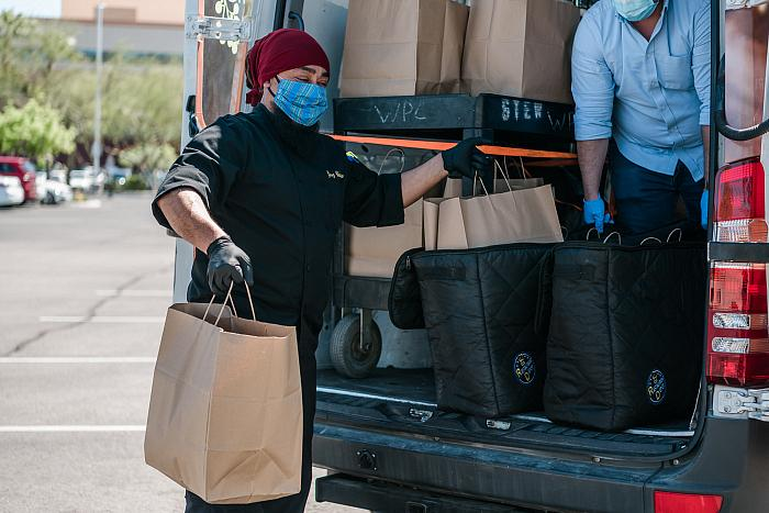 Divine Events Delivers to Essential Workers