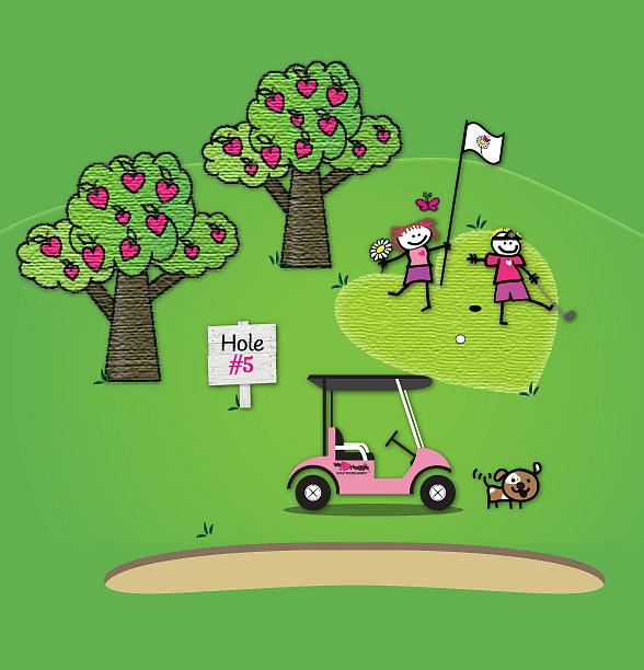 Golfers All Over Las Vegas Come Together to Support the Children's Heart Foundation at The 9th Annual We ♥ Maggie Golf Tournament May 27