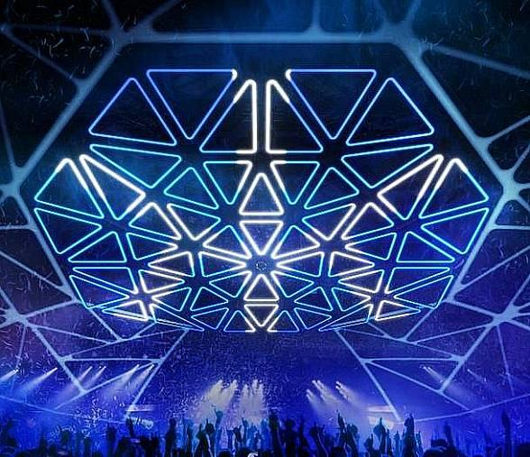 "Hakkasan Nightlub in Las Vegas Unveils Multi-Million Dollar ""Hakkasan Grid"""