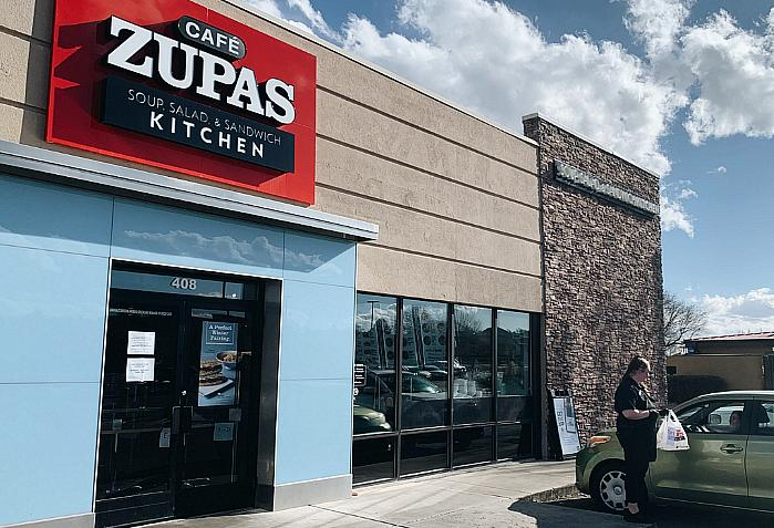 Cafe Zupas is OPEN with 4 Easy Ways to Order