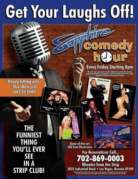 The Sapphire Comedy Hour