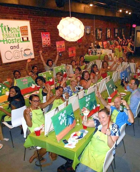 """Paint, Drink and Be Merry as """"Paint Nite"""" Events Hit Local Nightlife"""
