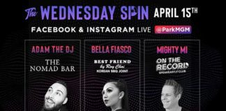 "Las Vegas Virtual DJ Party ""The Wednesday Spin"" Presented by Park MGM Drops Next Beat April 15"