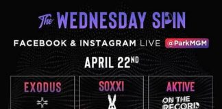 "World-Renowned DJ Aktive Headlines ""The Wednesday Spin"" Presented by Park MGM April 22"