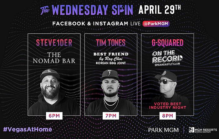 "Next Track of ""The Wednesday Spin"" Presented by Park MGM Drops April 29"