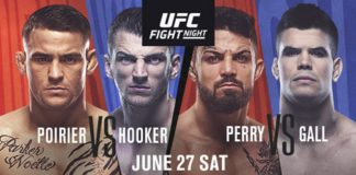 Top Lightweight Contenders (#3) Dustin Poirier and (#5) Dan Hooker Set to Deliver Fireworks in June 27 Main Event