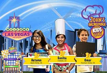 John's Incredible Pizza Company Brings Kids Cook-Off Championship to Las Vegas, Thursday, Aug. 16
