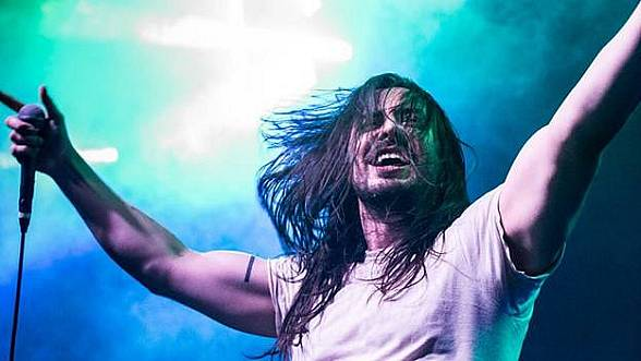 """Andrew W.K. """"The Party Never Dies"""" Tour Live in Concert at Brooklyn Bowl Las Vegas Sept. 30"""