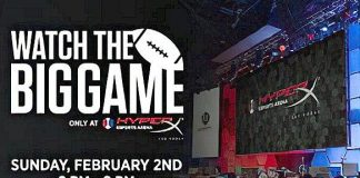 Big Game Watch Party to Touch Down at HyperX Esports Arena Las Vegas, Feb. 2