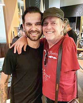 Def Leppard Drummer Rick Allen Visited Club Tattoo At Miracle Mile Shops