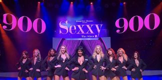 """Sexxy The Show"" Starring Jennifer Romas Performs 900th Show at Westgate Las Vegas Resort & Casino!"