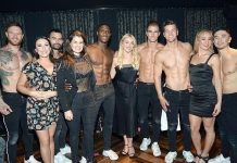 """Julianne Hough Spotted at """"Magic Mike Live"""" inside the Hard Rock Hotel & Casino Las Vegas"""