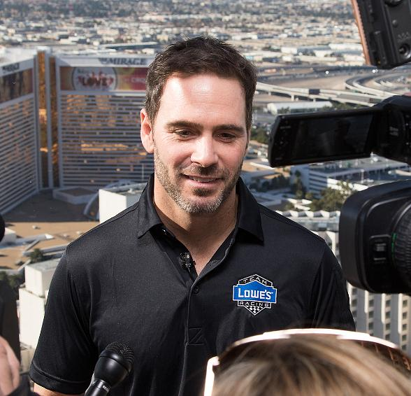 Jimmie Johnson Ready to Gamble for the Win in Kobalt 400; Rides the High Roller in Las Vegas