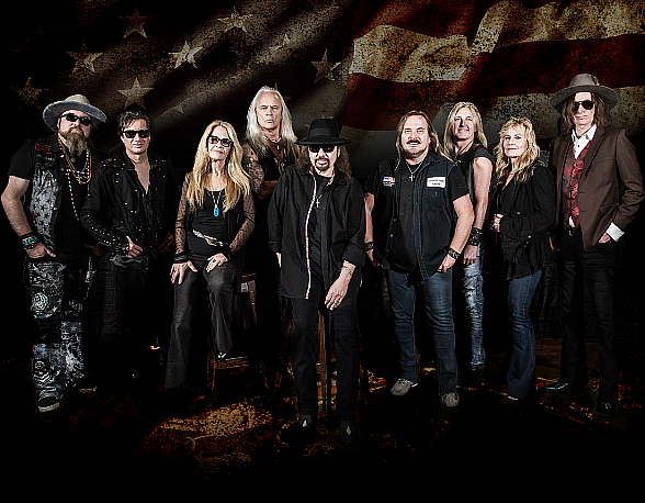 """Lynyrd Skynyrd Announces 2019 U.S. Dates for """"Last of the Street Survivors Farewell Tour"""" Coming to T-Mobile Arena August 16, 2019"""