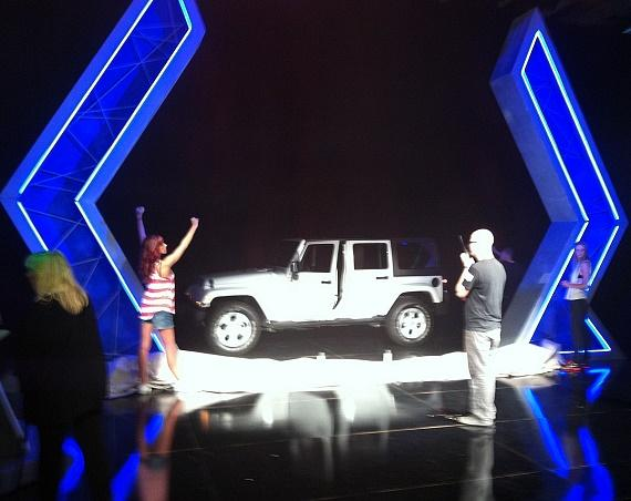 The JEEP during rehearsals