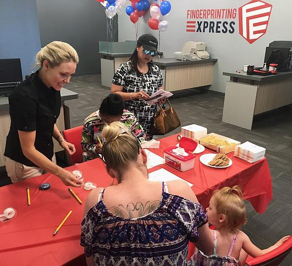 """Fingerprinting Express Gives Back with Its """"Culture to Care"""" Program; Launches Fourth Nevada Location in Spring"""