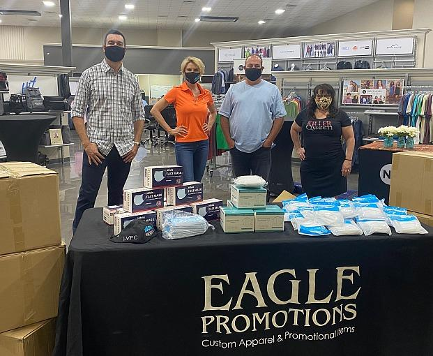 Eagle Promotions Donates 20,000 Disposable Masks and 1500 KN95 Masks to Hospitals and Organizations in Need in Southern Nevada