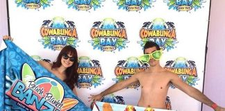 Cowabunga Bay Waterpark Celebrity Day and Debut of New Rides, Beach Blanket Banzai and Wild Surf