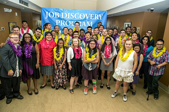 Opportunity Village and Clark County School District Celebrate 15th Year of their Job Discovery Program