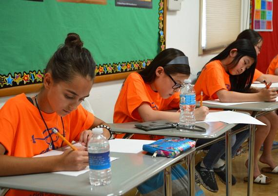 The First All-Girls Math Tournament, Orange County Math Circle at Coral Academy of Science Las Vegas