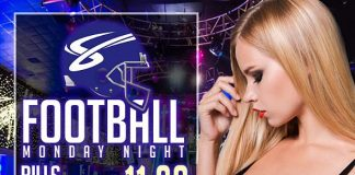 Sapphire to host Buffalo Bills vs. New England Patriots Monday Night Football with $1 Halftime Dances Nov. 23