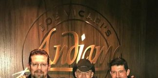 """Benghazi Heroes, Kris """"Tanto"""" Paronto and John """"Tig"""" Tiegen, and Country Singer, Ryan Weaver, spotted at the D Casino Hotel"""