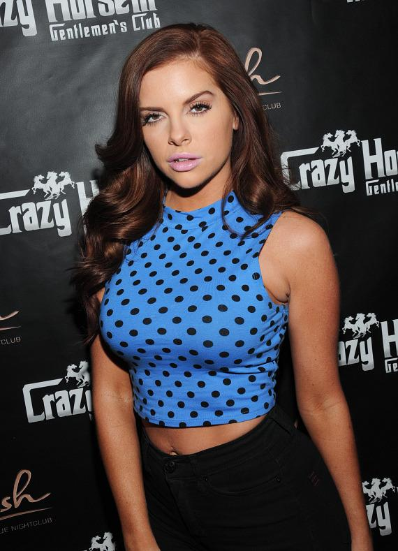 Kayla Collins on the red carpet at Crazy Horse III