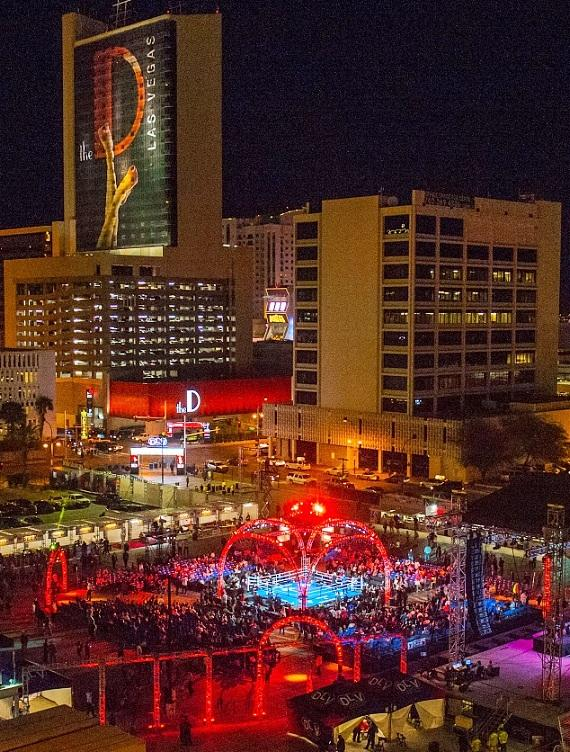 """Knockout Night at the D"" at the Downtown Las Vegas Event Center"