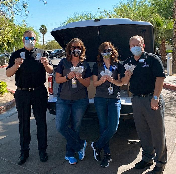 Comprehensive Cancer Centers of Nevada Donates 10,000 Sunscreen Packets to Cashman Isolation-Quarantine Complex (ISO-Q)