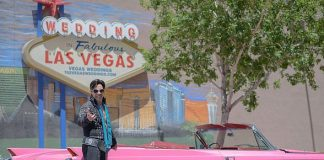 New Drive-Thru Elvis Pink Cadillac Package at Vegas Weddings