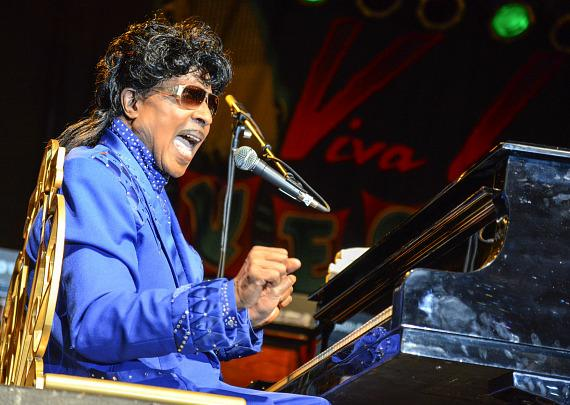 Little Richard Performs at Viva Las Vegas Rockabilly Weekend
